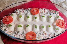 A tökéletes kaszinótojás, az anyós receptje alapján - Szilveszterre kötelező - Receptek | SóBors Hungarian Recipes, Finger Food
