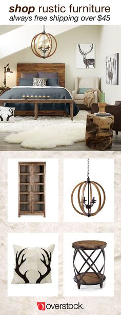 Escape from the hustle and bustle of everyday life and settle into an inviting rustic home. Read on for more tips and inspiration on Rustic style. 10 Creative Rustic Bedroom Decor Plans To Consider For Your Cottage Home Interior, Interior Design, Decoration Inspiration, Pillow Inspiration, Decor Ideas, Decorating Ideas, Home Bedroom, Bedrooms, Bedroom Rustic