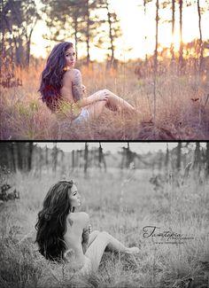 Outdoor boudoir. Tamtopia Photography NC