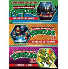 BARGAIN Teenage Mutant Ninja Turtles – The Movie Collection NOW £7 At Amazon - Gratisfaction UK Bargains #turtles