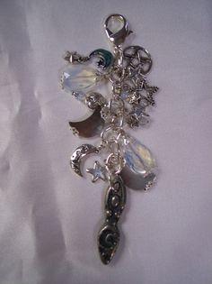 Celestial Goddess Charm Clip for Purse / by ElegantlyEnchanting, $15.00