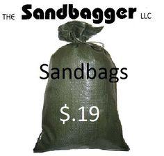 Sandbags just $.19 ea.