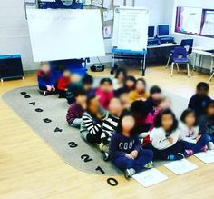 """""""Today in Mathematics we created a human bar graph because our online resource (national library of virtual manipulatives) wasn't working. The question…"""""""