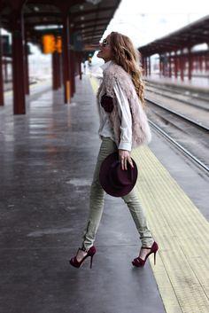 Train station |