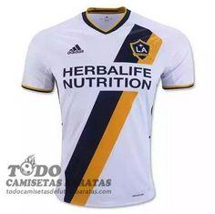 primera camiseta de futbol baratas LA Galaxy 2016