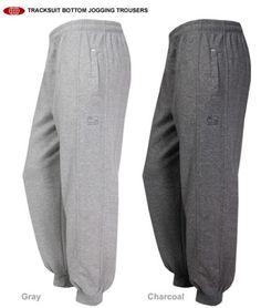New-Sport-Sweatpants-Athletic-Pants-Grey-Pockets-Active-Trousers-Jogging-Bottoms
