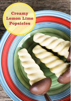 Creamy Lemon Lime Popsicles—just blend coconut milk, lemon lime ...