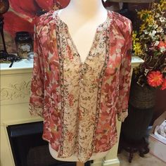 Bke blouse New with tags- price is firm BKE Tops Blouses