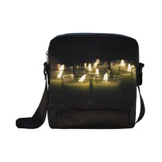Believe Candles Crossbody Nylon Bags (Model 1633)