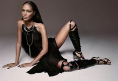 Photographer John Paul Pietrus captures Puerto Rican fashion model Joan Smalls for the latest edition of Modern Weekly China. Clad in Alexander Wang, Balmain, Lanvin, Tom Ford and more as selected by stylist Maher Jridi, the 24 year-old is absolutely smoking on set. / Hair by Danilo, Make-up by Christopher Ardoff
