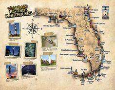 Florida Lighthouse Association, Inc. - FL Lighthouse Map