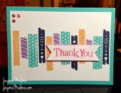 My Favorite Stamps Blog Hop WASHI TAPE WONDER IDEA