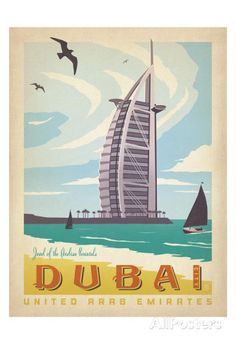 Dubai: United Arab Emirates Prints by Anderson Design Group at AllPosters.com