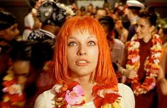 Leeloo, The Fifth Element (Characters that made you wish you had red hair.)