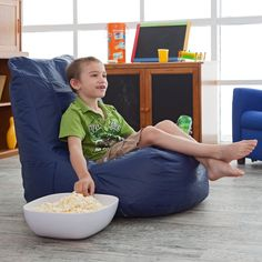 Have to have it. Sweet Spot Vinyl Video Bean Bag Chair - $41.99 @hayneedle