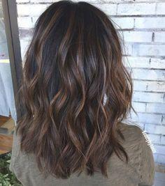 Brown Hair Balayage, Brown Hair With Highlights, Brown Blonde Hair, Brown Hair Colors, Black Hair, Dark Hair With Lowlights, Brunette Highlights Lowlights, Grown Out Highlights, Best Brunette Hair Color