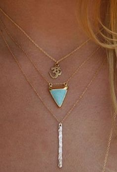 Refined Style - small layered necklaces
