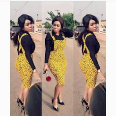 Top Ten Unique Ankara Styles That Are Killing The Game - Dabonke : Nigeria Latest Gist and Fashion 2019 Latest African Fashion Dresses, African Dresses For Women, African Print Dresses, African Print Fashion, Africa Fashion, African Attire, African Wear, African Women, Unique Ankara Styles