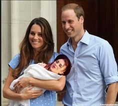 The Royals and their Boy George ;-)