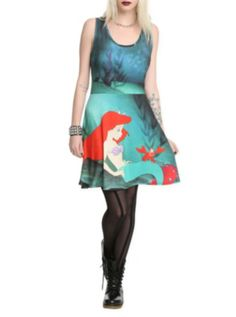 Disney The Little Mermaid Ariel And Sebastian Dress http://www.offers.com/hottopic/?offer_id=2011524