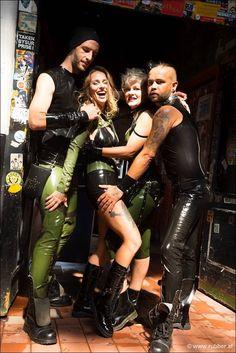 Latex, Leather Pants, Funny, Fashion, Leather Jogger Pants, Moda, La Mode, Leather Joggers, Ha Ha