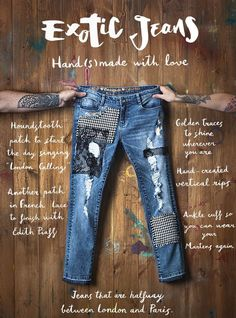 Desigual Diy / Alteration jeans / SECOND STREET
