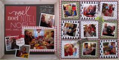 two page Christmas layout I created. See it at Random Memories blog.