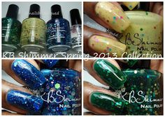 KB Shimmer Spring 2013 Collection, Swatches and Review