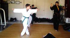 Leadership is something we pass on at an early age #kids #taekwondo #riorancho #karate
