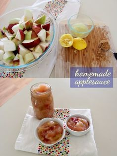 all the things: Apples, Three Ways | homemade applesauce
