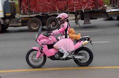 South African motorcyclist Skinny Van Schalwyck talks to Global Women Who Ride about riding, her bikes and that one famous photo of her on a pink KTM. Pink Motorcycle, Motorcycle Style, Japanese Motorcycle, Women Motorcycle, Motorcycle Quotes, Biker Style, Motorcycle Helmets, Pit Bike, Biker Chick