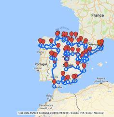 Toda la info para hacer la ruta que une los pueblos más bonitos de España >> http://viajes.101lugaresincreibles.com/2017/02/la-mejor-ruta-conocer-los-pueblos-mas-bonitos-espana/