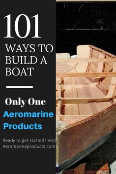There's a lot of different designs, techniques, and know-how that goes into building your own boat. No matter what you're doing, Aeromarine Products is there for you.