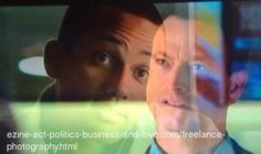 Gary Sinise as Mac Taylor and Hill Harper as Dr. Sheldon Hawkes in CSI NY.