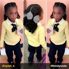 french-braids-and-twist-out-with-bow-natural-hairstyle-for-little-girls