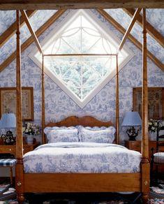 Ideen Für Schlafzimmer Deckengestaltung Tapete Holzbalken