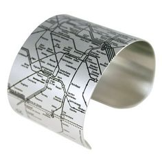 i want the metro map on my wrist. just in case i wake up in paris some day.