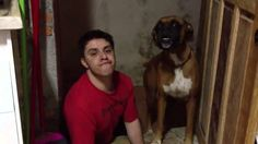 Man imitating his dog is the most baffling thing you'll see today