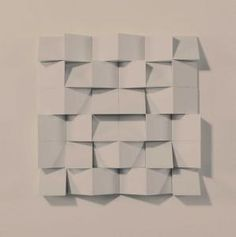 Klaus Staudt: Untitled, 1972. Multiple. Polystyrol on wood. 40,5 x 40,3 6 cm. Gallery edition e, Munich. From the planned edition of 10 only 4 were executed.