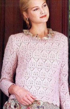 634 en de Crochet Pinterest agujas dos imágenes Mejores l blusas gaSwqanC