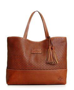 Patricia Nash Handbag, Perforated Londra Tote - Tote Bags - Handbags & Accessories - Macys