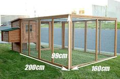 Building A DIY Chicken Coop If you've never had a flock of chickens and are considering it, then you might actually enjoy the process. It can be a lot of fun to raise chickens but good planning ahead of building your chicken coop w Portable Chicken Coop, Backyard Chicken Coops, Chicken Coop Plans, Building A Chicken Coop, Diy Chicken Coop, Chickens Backyard, Bunny Cages, Rabbit Cages, Chicken Coop Designs