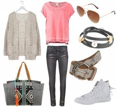 #outfit Pink als Hingucker ♥ #outfit #outfit #outfitdestages #dresslove