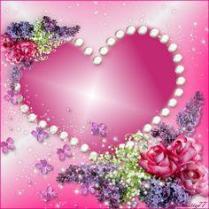 ♥** Glitter Wallpaper, Heart Wallpaper, Love Wallpaper, Studio Background Images, Background Images For Editing, Phone Screen Wallpaper, Heart Frame, Paper Frames, Love Rose