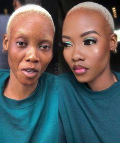 Men saying they don't want women who wear make up. It's funny because your gf is natural yet you&; Men saying they don't want women who wear make up. It's funny because your gf is natural yet you&;Original […] before and after women natural Black Girl Makeup, Girls Makeup, Makeup On Fleek, Flawless Makeup, Makeup Salon, Eye Makeup, Beauty Makeup, Cute Makeup Looks, Makeup Before And After