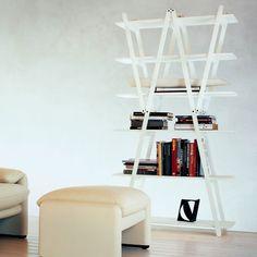 Vico Magistretti, Nuvola Rossa Bookcase .