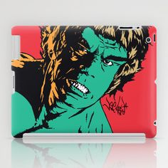 See Me Angry iPad Case by Vee Ladwa - $60.00