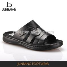 Source Factory sale special design black Iraq style handmade PU slippers men on m.alibaba.com