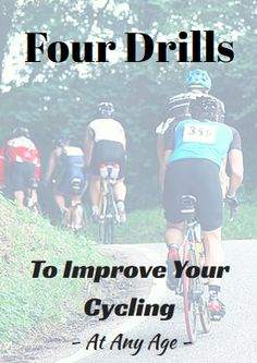 Four Drills to Improve Your Cycling at Any Age… Cycling Tips, Cycling Workout, Road Cycling, Bike Workouts, Swimming Workouts, Swimming Tips, App Workout, Triceps Workout, Chest Workouts