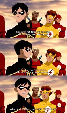 "Young Justice ""Whelmed"" and that would be when Robin officially became my favorite sidekick."